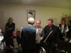 Serenade Fam. Zelhorst, 22 november 2012