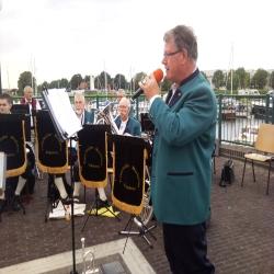 Optreden in de haven Vollenhove, 29 augustus 2014